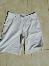 STRAIGHT DOWN POLY GOLF SHORTS SIZE 32