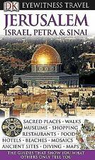 NEW - Jerusalem, Israel, Petra & Sinai (EYEWITNESS TRAVEL GUIDE)