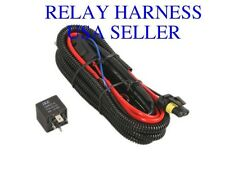 Ionic HID Relay Harness - H13/9008 Xenon Wiring Digital w/ Fuse Fits: Low Beam