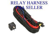 H13/9008 XENON HID DIGITAL RELAY WIRING HARNESS W/ FUSE - (Car B)