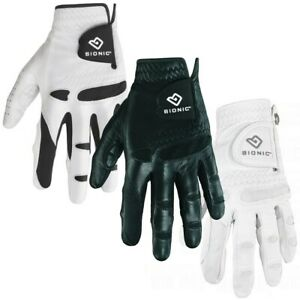 Bionic StableGrip Natural Fit Leather Golf Gloves - Pick Size, Fit, Hand, Color!
