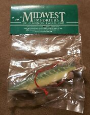 PIKE Midwest Importers of Cannon Falls Fish  Christmas Ornaments