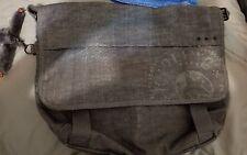 Slightly used Kipling Black/Grey Transporter Bag