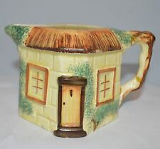 Hand Painted Keele St. Pottery Cottage Shaped Creamer Pitcher