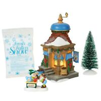 2018 Department 56 North Pole Silver Series - Nutmeg Nook Boxed Set #6000617 NIB