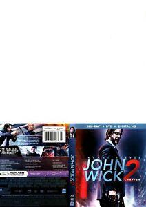 John Wick Chapter 2 (Blu Ray/ DVD 2 Discs)
