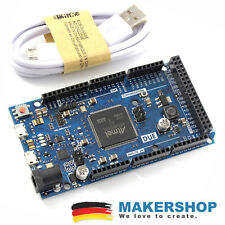 DUE 2012 développement Board + Usb-Atmel Arduino Comp. sam3x8e 32-bit Cortex-m3