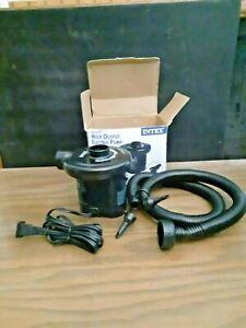 Intex 110-120 Volt AC Quick-Fill High Output Electric Pump 66629t
