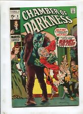 CHAMBER OF DARKNESS #8 (7.0) WRIGHTSON COVER--DRAWS HIMSELF IN!