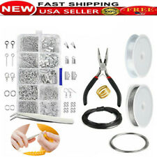 Wire Jewelry Making Starter Kit Sterling Silver Home Tools Craft Supplies