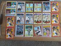 Boston Red Sox Legend Carl Yastrzemski Baseball Card Collection