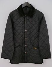 Men Barbour JacketQuilted Casual Breathable Black XS ZOA215