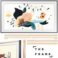 """Samsung The Frame 3.0 50"""" QLED Smart 4K UHD TV 2020 Model with 50"""" Bezel Beige"""