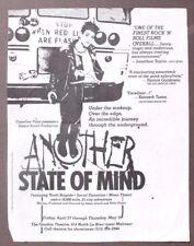 Vtg 1980's Another State Of Mind Social Distortion Punk Rock Concert Flyer