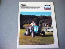 Ford 1120, 1220, 1320, 1520, 1720, 1920, 2120 Farm Tractor Brochure           lw