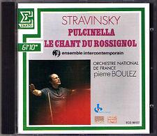 Pierre Boulez: Stravinsky Pulcinella le chant du Rossignol CD Ann Murray Estes