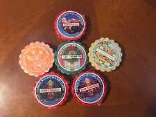 Lot of 6 Christmas Holiday Scented Wax Tarts Yankee Candle Wreath Home Angel (37