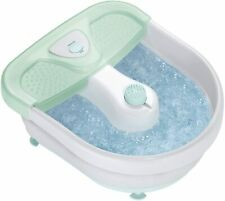 Conair Foot Spa/Pedicure Spa with Massaging Bubbles Includes 3 Attachments New