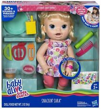 Baby Alive Snackin' Sara Doll One Size Pink
