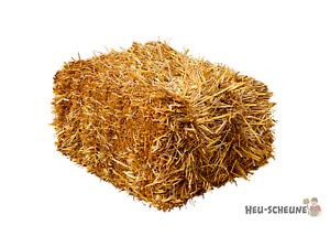 Haferstroh 15kg Heu-Scheune® Strohballen Einstreu Stroh