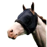 Weaver Fly Mask without Ears with Fleece Lined Openings and Black Mesh