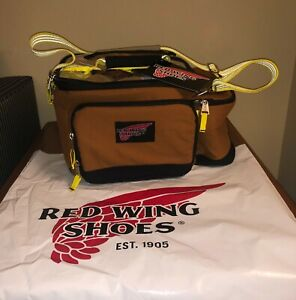 Red Wings Shoes Deluxe Brown Insulated Lunch Cooler Bag New with Tags
