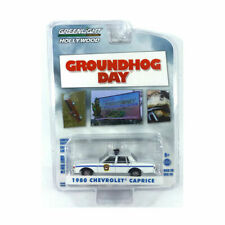 1980 CHEVROLET CAPRICE POLICE CAR GROUNDHOG DAY 1/64 DIECAST GREENLIGHT 44860 C