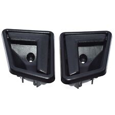 Black Front Rear RH LH Interior Door Handle Pair for 89-98 Suzuki Sidekick NEW