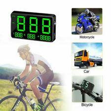 GPS Speedometer Plug & Play Digital Display Heads Up Display Overspeed Warning