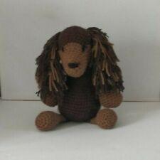 Lily  the longhair  dachshund  Amigurumi handmade soft crochet toy