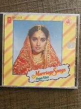 Marriage Songs From Bollywood film Audio cd