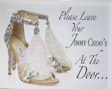 """Glitter Jimmy SHOE Quote 16""""x20"""" Large Canvas Picture Inspired  Marilyn Monroe"""