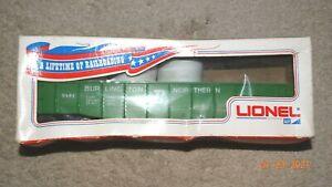 Lionel 9141 BURLINGTON NORTHERN Gondola w/Box 0/027 Gauge