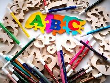 Wooden Alphabet Jigsaw Puzzle For Child, Educational Letters Puzzle For Kids