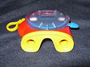 Fisher-Price 2002 3D Viewmaster with 1 Reel Red and Yellow EUC