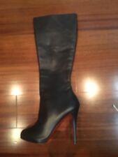 Christian Louboutin Botalili Calf Platform Chocolate Leather boots sz 39.5