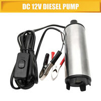 12V Liquid Diesel Fuel Pump Submersible Transfer Vessel Water Oil Car Auto DC