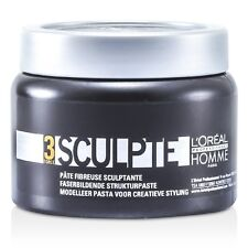 NEW L'Oreal Professionnel Homme Sculpte - Sculpting Fibre Paste 150ml Mens Hair