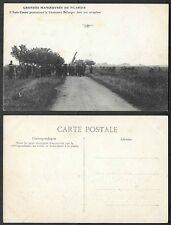 Old Aviation Postcard - France, Airplane - Picardie Manouvres - Bellanger, Canon