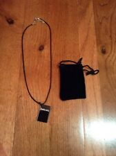 Death Note Pendant Necklace & Pouch New Rare Official Limited Rare Cosplay