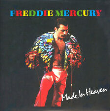 "FREDDIE MERCURY-Made In Heaven-Queen Larry Lurex Clear-Red Vinyl 7"" NEW"