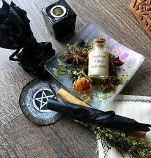 Protection Spell Supply Kit Wicca Pagan Goddess Metaphysical Mojo Bag Gris Gris