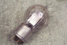 One, Western Electric, WE-205-D tube, tennis ball, metal base, 205D