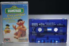 SESAMSTRASSE Ernie und Bert machen Ferien 1 MC Kassette EUROPA  Mini