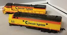 HO Scale Lot Chessie System Locomotive C&O 4127 + B&O 4472 Bachmann