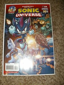 RARE HTF SONIC UNIVERSE 59 - COMBINED SHIPPING - NM