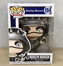 Funko Pop Rocks Marilyn Manson Vinyl Figure 154 Metal Rock Collectible