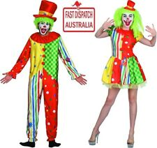 Clown Mens & ladies Costumes.. honk honk.. too crazy. no funny business here!