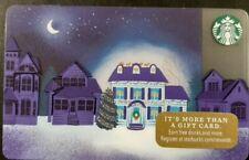 """2017 STARBUCKS CHRISTMAS """"LIGHTED HOUSE"""" GIFT CARD SERIES 6146               (G)"""