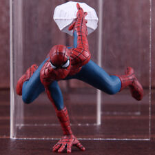 Spider-Man Mini Car Home Decoration Doll With Magnet PVC Figure Model Toy